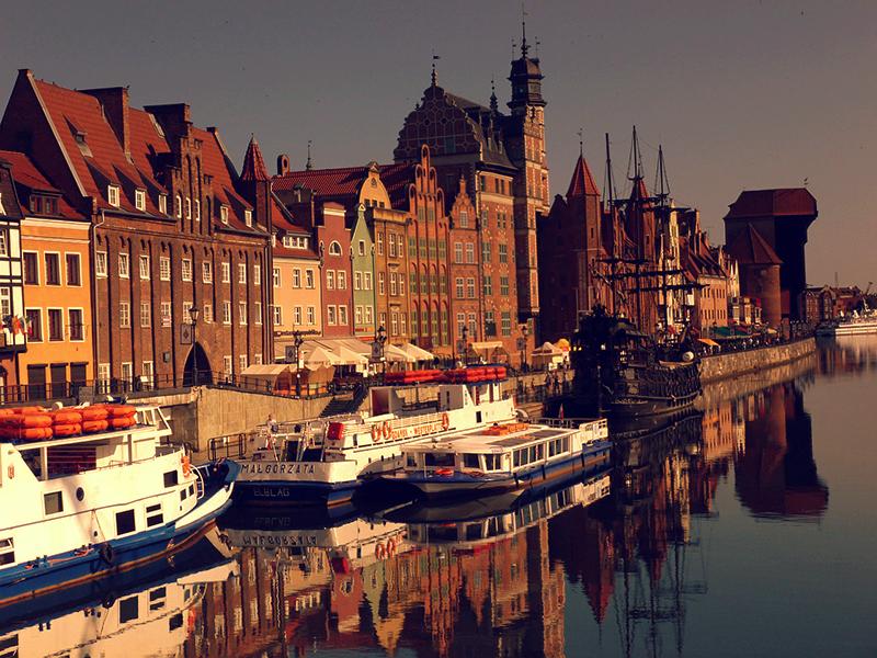 Piękne nieruchomości Gdańska