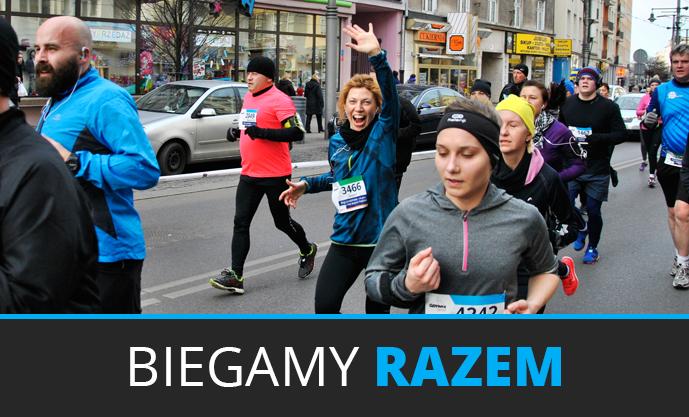 Joanna jest częścią drużyny biegowej Tyszkiewicz Nieruchomości