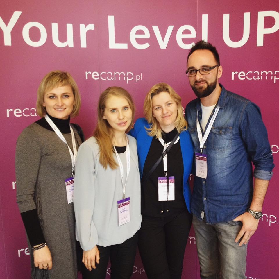 Nasz zespół także uczestniczył w wydarzeniu recamp.pl