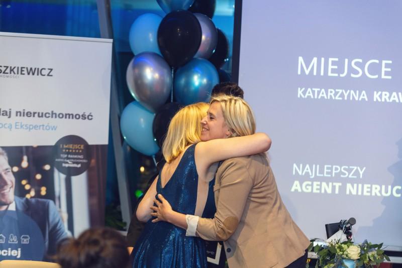Zaszczytne 3 miejsce zdobyła Katarzyna Krawczun z gdyńskiego oddziału
