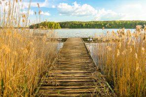 Dom nad jeziorem – okolice Bytowa